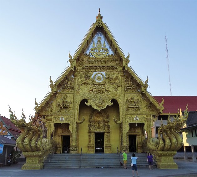 Rijk gedecoreerde Tempel.