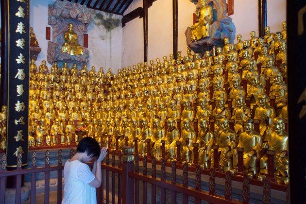 De tempel van de 500 Arhats