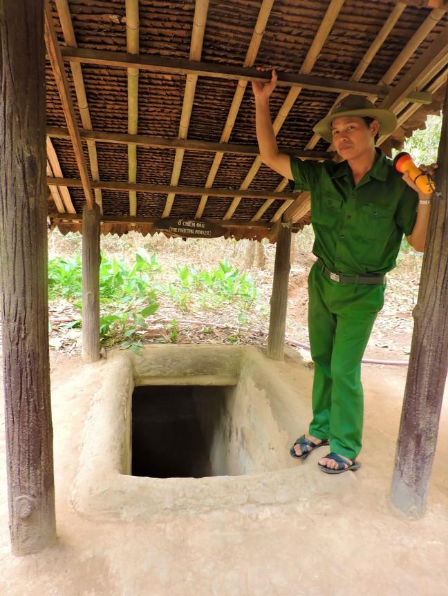 Wees welkom in de Cu Chi tunnels