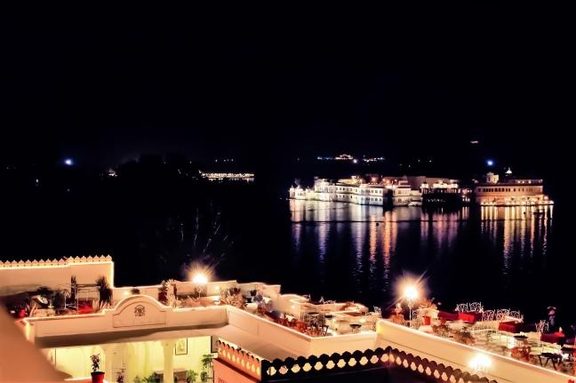 Pichola by night