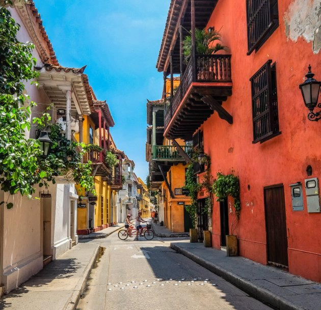 Caribisch Cartagena lacht je toe