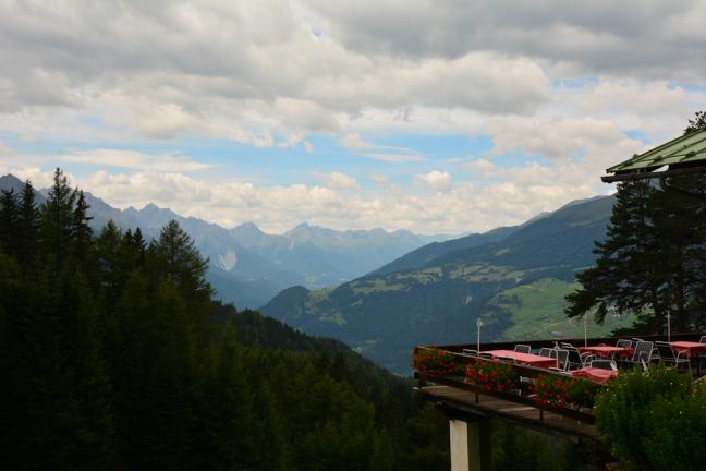 Uitzicht op Zwitserland