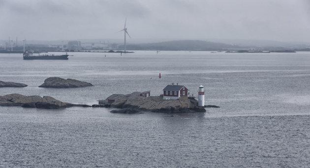 Zweedse vissershuisjes