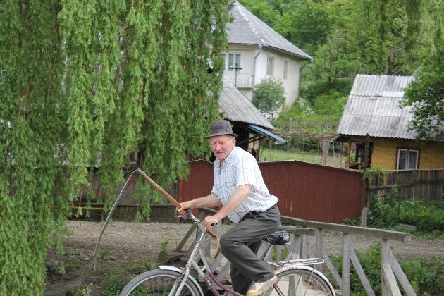 Gevaarlijk fietsen zo!