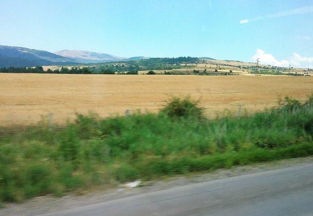 Landschap Bulgarije