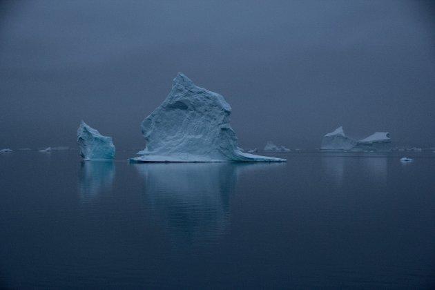 De rust van Oost Groenland