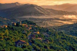 Een klein bergdorpje San Massimo