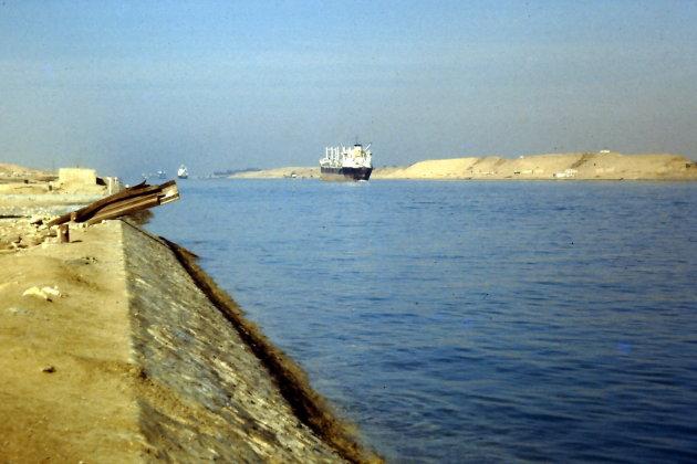 Sinds 1869: het Suezkanaal