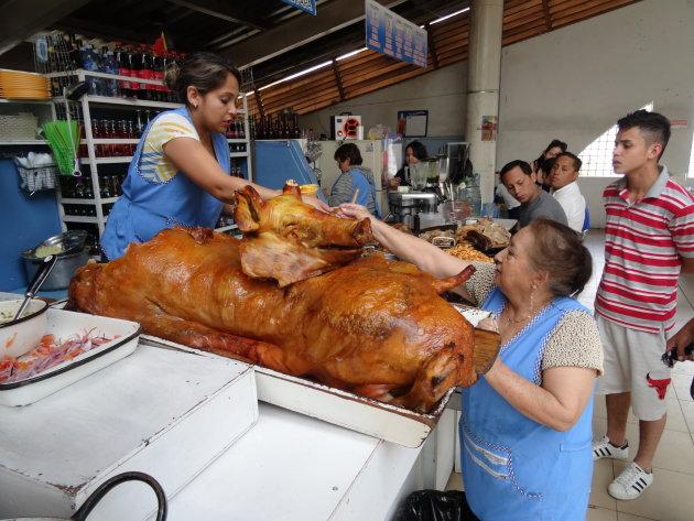 Varkensvlees te koop