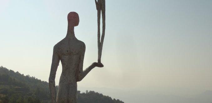 Artistiek wandelen in Zuid-Piemonte