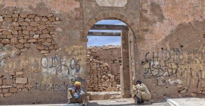 Oude stadsmuur Agadir