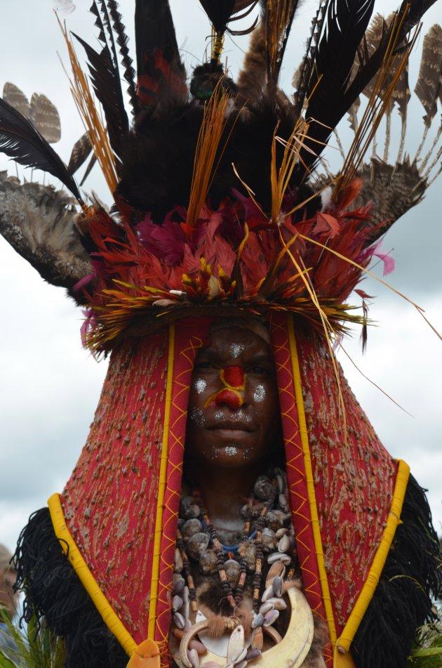 Traditionele bilas, Jiwaka tribe
