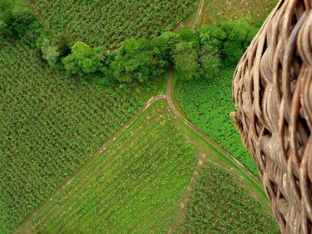 Vanuit de luchtballon