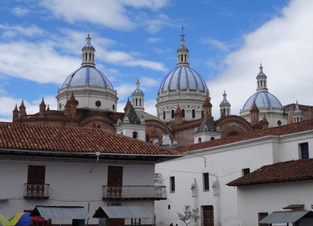 Koepels van de kathedraal