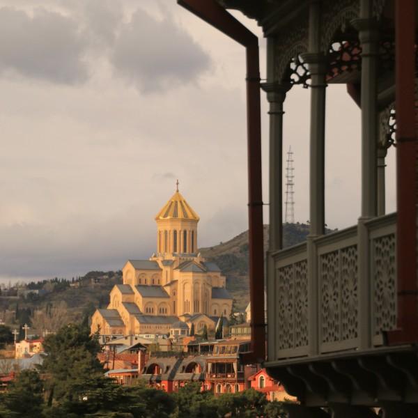 daterende Georgische gebouwen