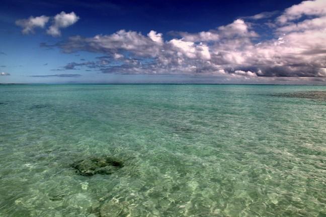 De Eindeloze Oceaan bij Jambiani