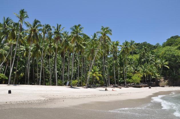 Isla Tortuga het witte strand