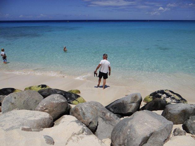 Genieten bij Maho Beach St. Maarten