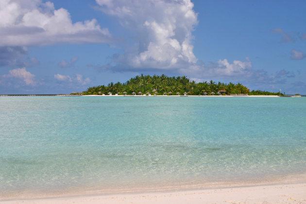 Pootje baden in de Indische Oceaan