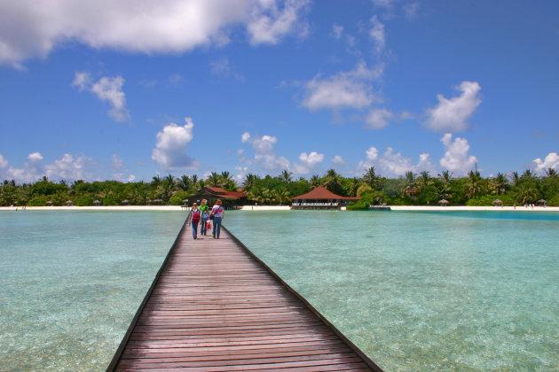 Arriveren in het paradijs