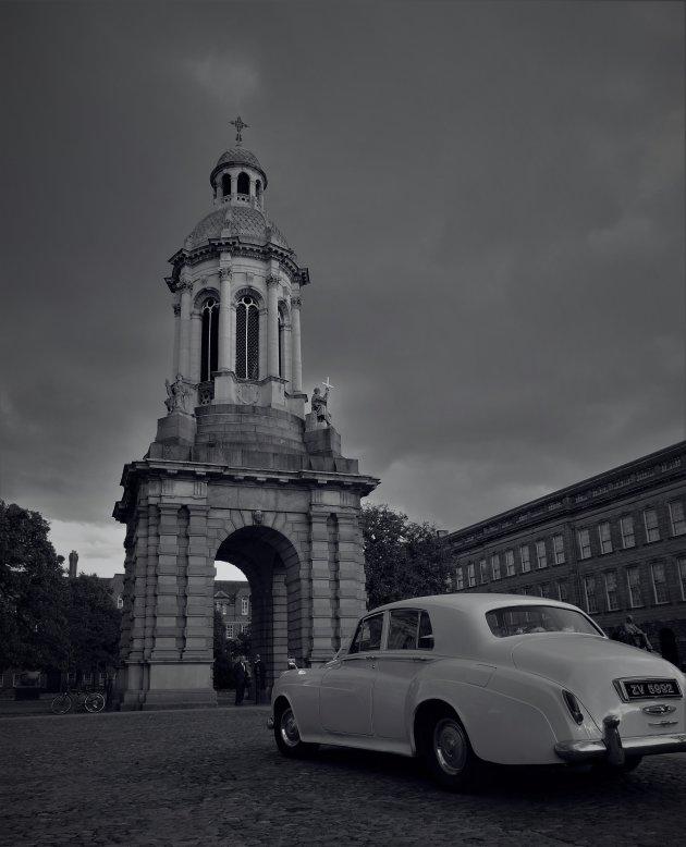Trouwfoto's bij Trinity College