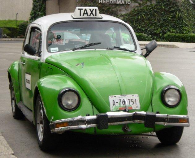 De groene taxi