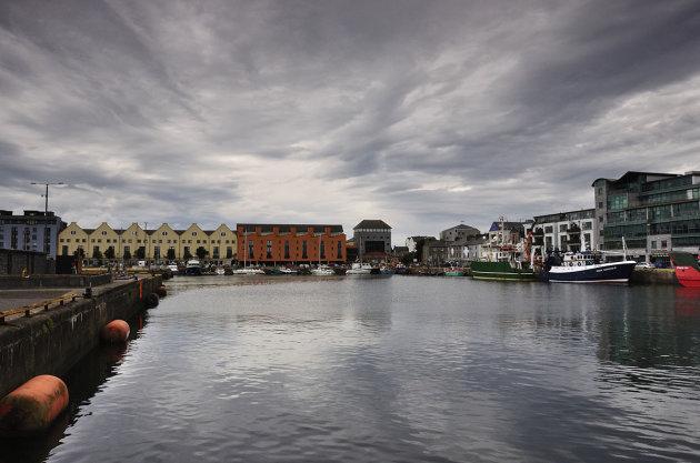 De haven van Galway