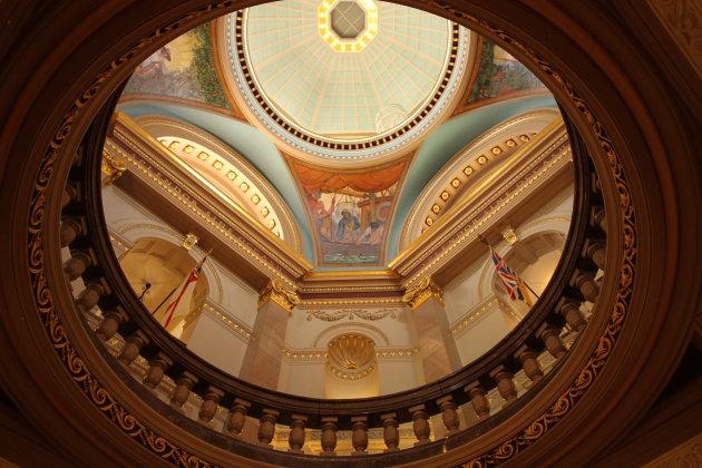 Koepel Parlementsgebouw Victoria