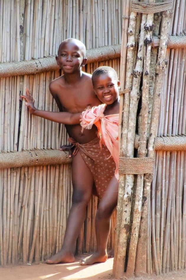 Welkomscomitee in Swaziland