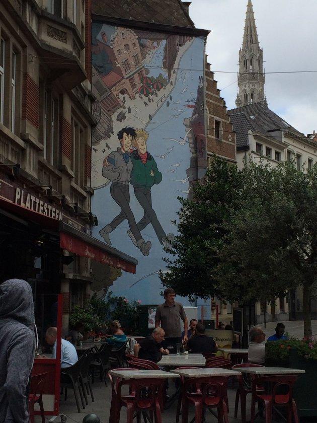 Striptour Brussel