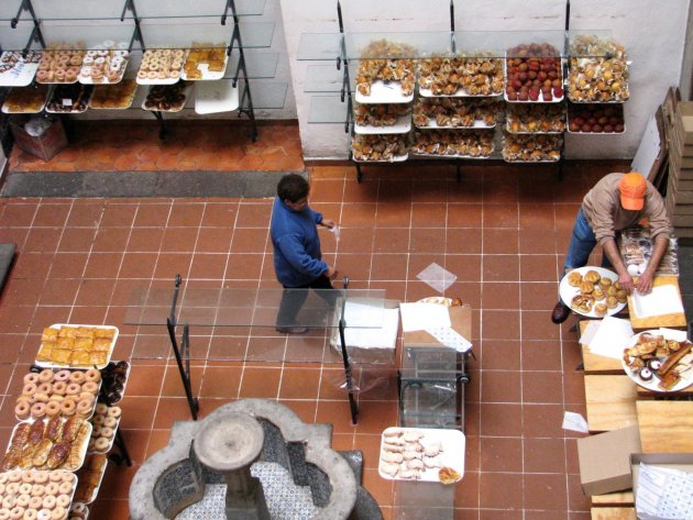De Mexicaanse bakker