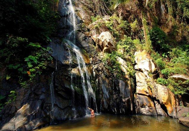 Natuurlijke Douche in Yelapa