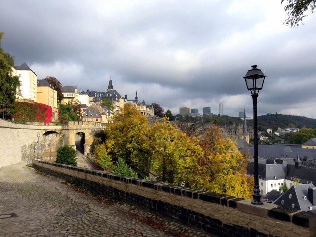 De Basse Ville van Luxemburg Stad