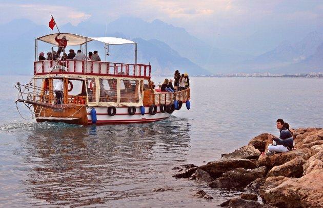 de mooie haven van Antalya