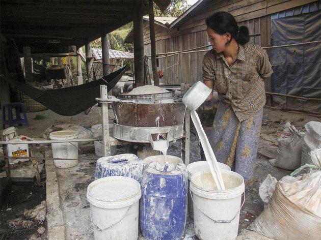 Rijst pap? Bewerken van rijst