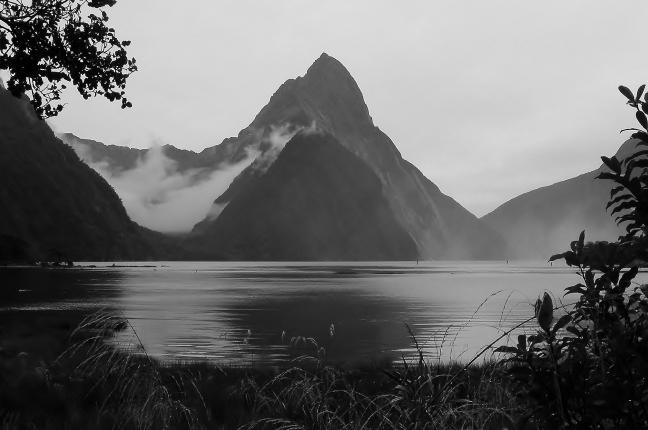 Grijs, grauw en druilerig Nieuw Zeeland