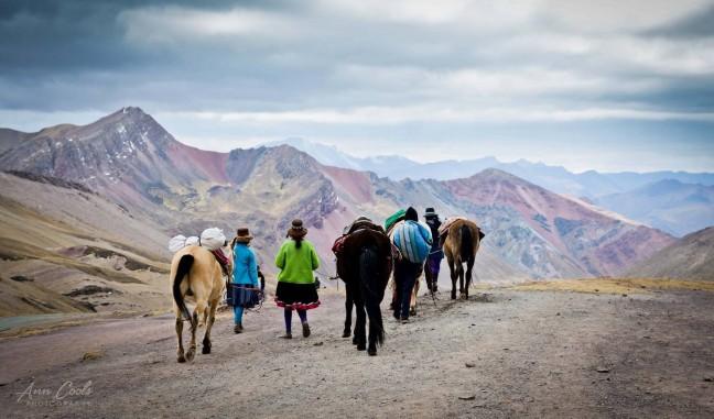 Epische tocht naar Rainbow Mountain