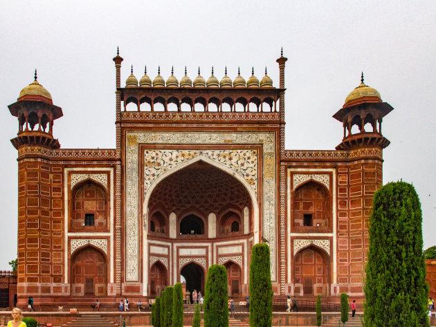 Zijgebouw, Taj Mahal