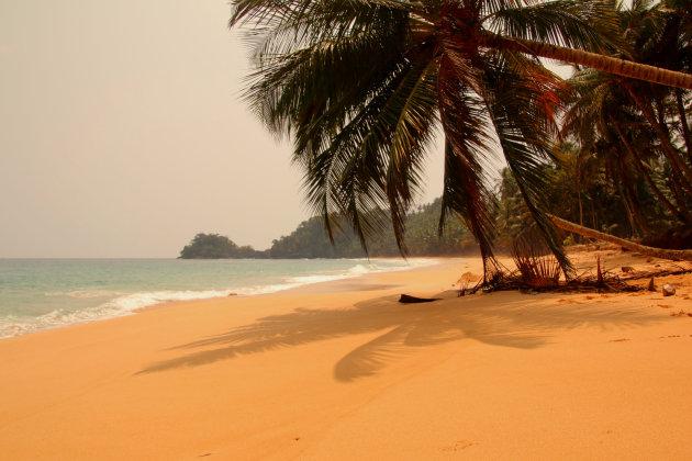Stranden van Sao Tomé