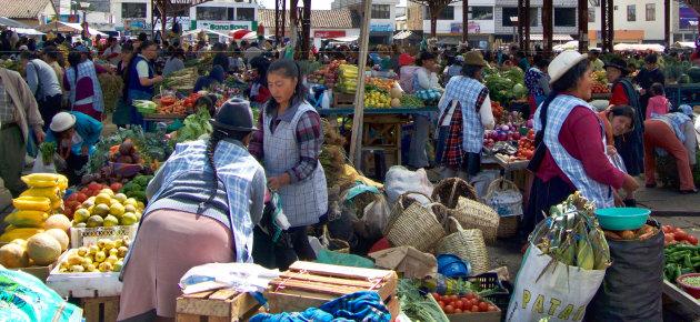 markt van Pujilí