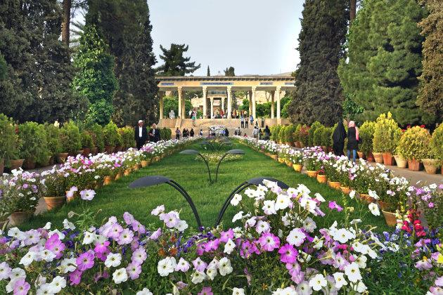In de tuinen van Hafez