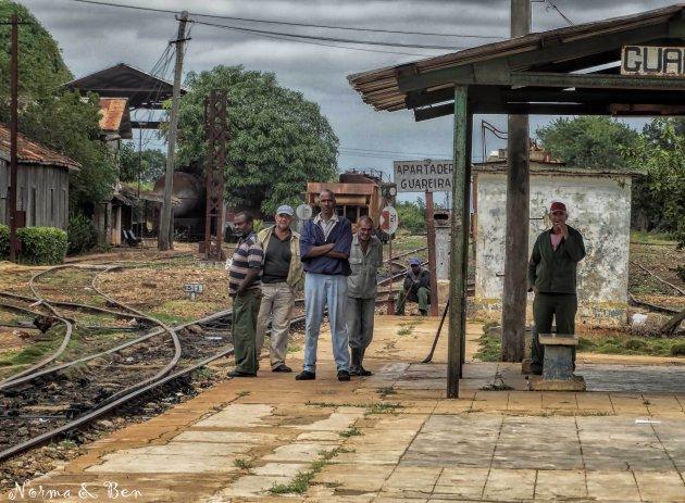 Treinstationnetje onder Havana