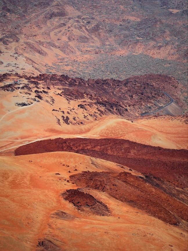 Vulkaanlandschap Rondom El Teide