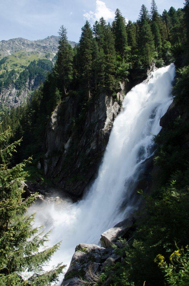 Watervallen in Oostenrijk