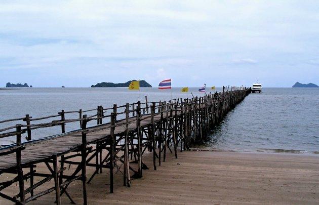 Overtocht naar Ko Pha Ngan