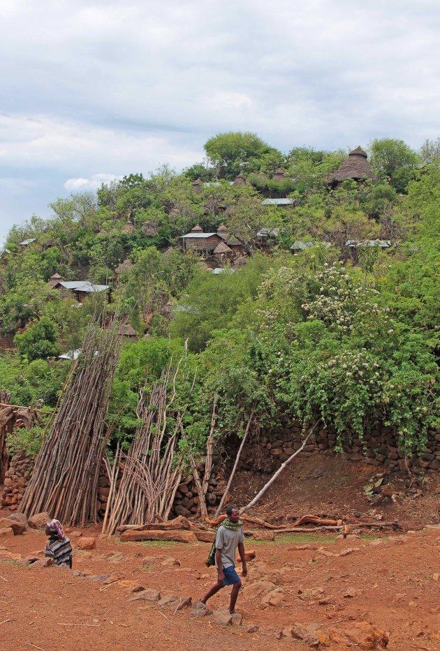 Konso dorp