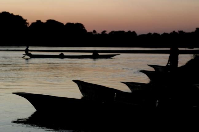 Sunset Chitwan