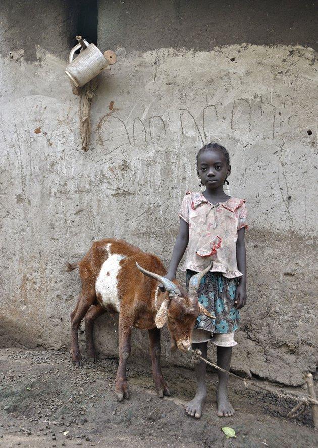 De geit en het meisje