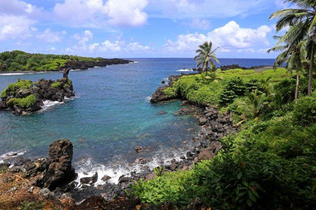 Waianapanapa S.P in Hawaii
