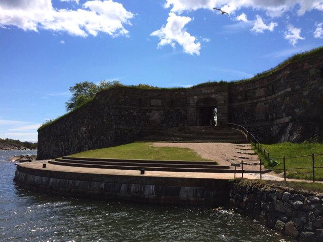 Koningspoort op Suomenlinna